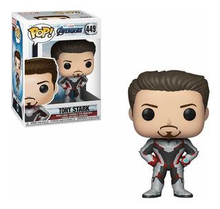 Funko Pop Marvel Avengers Endgame Vengadores Tony Stark 449