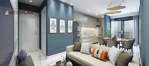 Imagem 1 de 9 de Flat Com 2 Dormitórios À Venda, 40 M² Por R$ 400.000,00 - Morretes - Itapema/sc - Fl0008