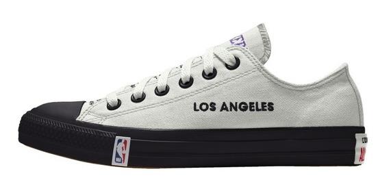 Tenis Converse X Nba Customizables Chuck Taylor Lakers La