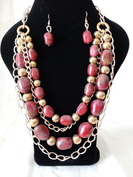 Collar De Auténtico Cristal Checo Zava Beads #1