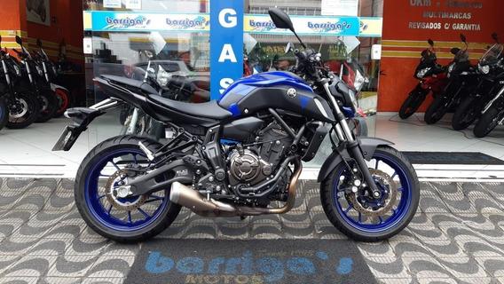 Yamaha Mt 07abs 2019 Azul Garantia De Fábrica