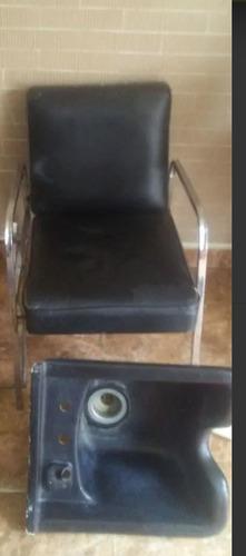 Vendo Silla De Lava Cabeza Para Barberia O Peluquería