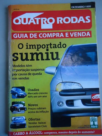 Quatro Rodas - Guia De Compra E Venda - 12/1999