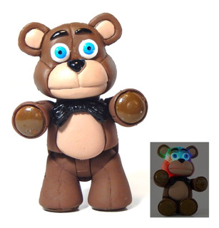 Figura Baby Freddy Fazbear Five Nights At Freddys Luz 11cm
