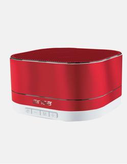 Bocina Bluetooth Con Funcion De Radio Y Ranura Sd Rojo