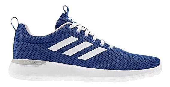 Tenis Casuales Hombre adidas Lite Racer Cln 8137 Azul Marino