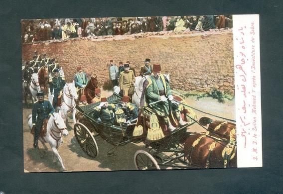 Turquia . Antigua Tarjeta Postal . S. M . J . Sultan Mehemed