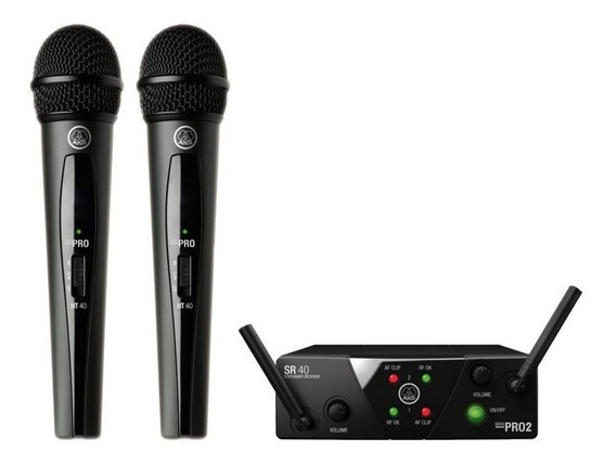 Microfonos Inalambricos Akg Pro Audio Wms40 Mini2