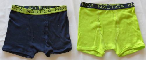 Duas Cuecas Boxer Nautica T 8 Infantil Boy