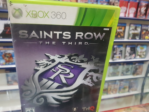 Saints Row The Third Usado Original Xbox 360 Midia Física