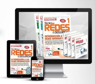 Kit Redes Curs Técnico Seguridad Diseño Montaje Instalacion.