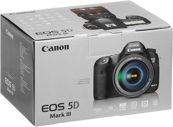 Camera Canon 5d Mark 3 + Lente 24-105mm 4.0l - Espetacular