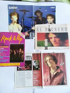 Spinetta Pack Revista Rock & Pop + 2 Suplementos Y Poster