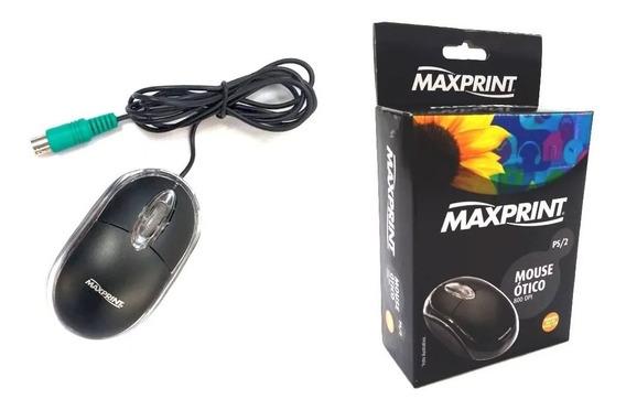 Mouse Óptico 800 Dpi | Conexão Ps2 | Marca Maxprint