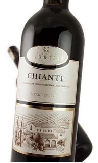 Vino Tinto Chianti Italiano Pack 2 Uni, Envió Caba