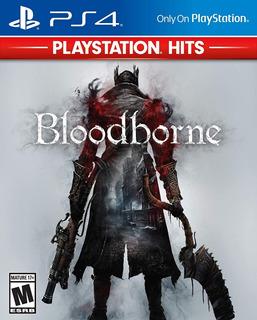 Bloodborne Ps4 Juego Nuevo Sellado