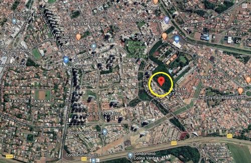 Terreno Para Venda No Jardim Botanico Com 458 M2, Uso Misto, Inclusive Prédio Ate 4 Andares, Medindo 10 M Frente X 27 M Lateral X 25 M Fundo - Te00419 - 67802563