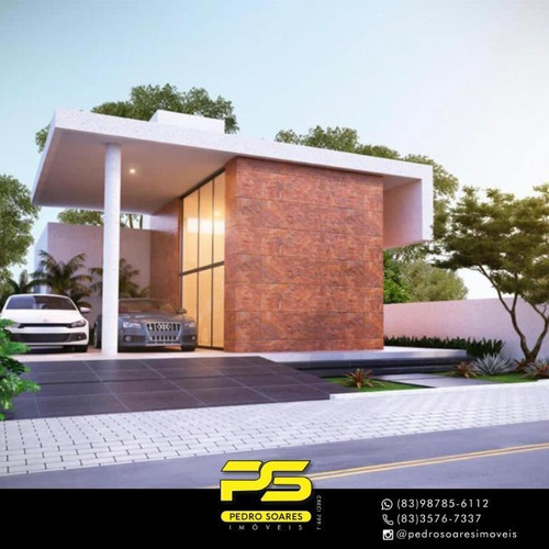 Casa Com 3 Dormitórios À Venda, 148 M² Por R$ 670.000 - Portal Do Sol - João Pessoa/pb - Ca0836