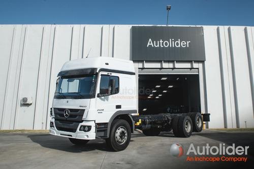 Mercedes-benz Atego 2428 6x2 Techo Elevado - Autolider