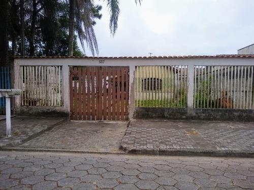 Casa Lote Inteiro 2° Quadra Em Mongaguá!!! - Ca00769 - 67808984