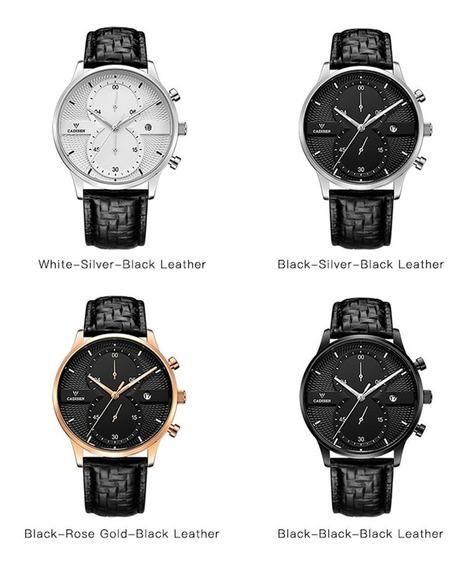 Relógio Masculino Impermeável Relógio De Quartzo Negócios C9