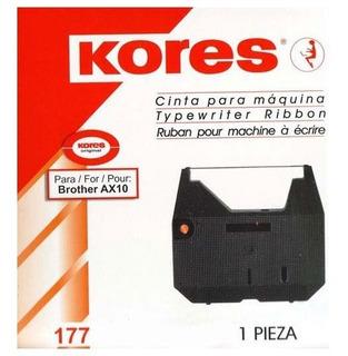 Cinta Kores 177 Ax10 Para Maquina De Escribir Electrica