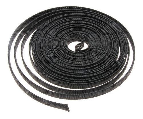 Cubre Cable Piel De Serpiente 3mm X1m Negro Extub-03bla/1