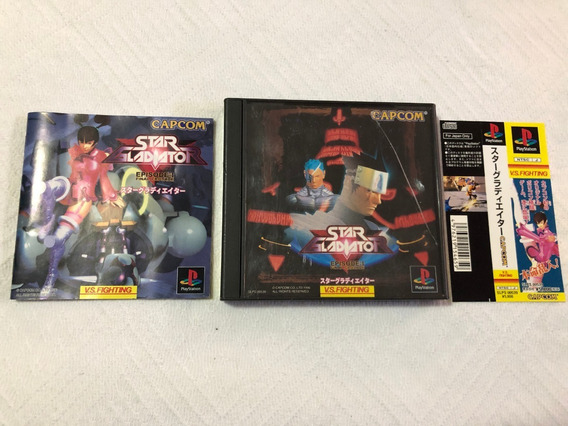 Playstation 1 : Star Gladiator Com Spine Original Japonês