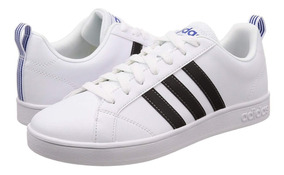 Tenis adidas Advantage Blanco/negro/azul F99256
