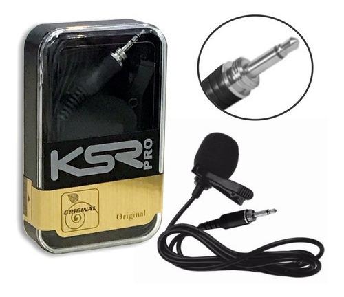 Microfone Lapela Ksr Pro Lt1 1366