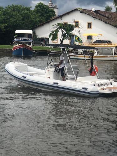 Lancha Flexboat Sr 620 - Ótimo Estado.