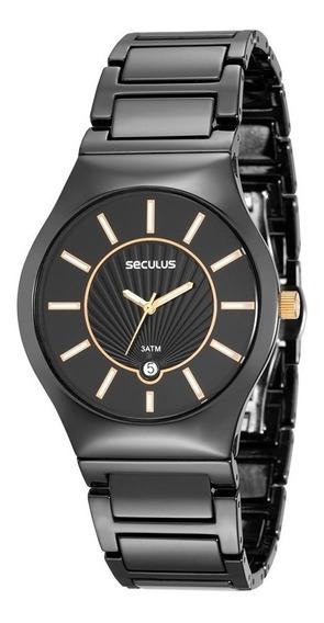 Relógio Seculus Feminino 20449losvnq1