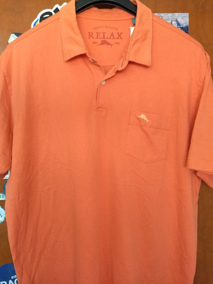 Tommy Bahama Playera Tipo Polo Talla Xl Adulto