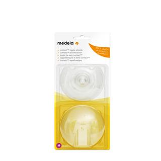 Pezoneras De Silicona Contact Nipple - Talle M. Medela