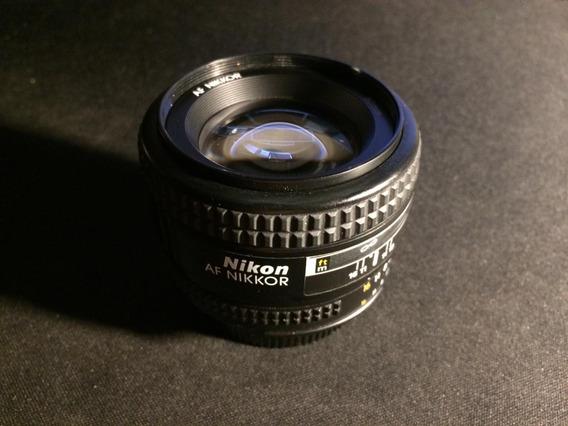 Lente Nikon Af Nikkor 50mm 1:1.4 D