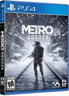 !! Metro Exodus Para Ps4 En Wholegames !!