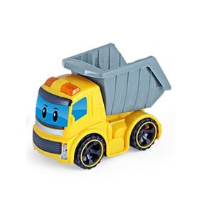 Construck - Caminhão Fricção - Basculante - Acende Faróis -
