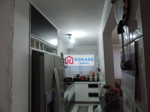 Cobertura Com 3 Dormitórios À Venda, 115 M² Por R$ 285.000,00 - Jardim América - São José Dos Campos/sp - Co0065