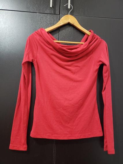 Blusa Strapple Roja Talla S / Nueva