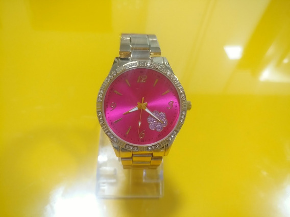 Relógio Feminino Pulseira Em Aço Inoxidável