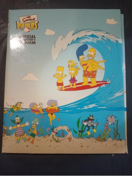 Elma Chips - Coleção Simpsons - Raríssimo Álbum - 2002