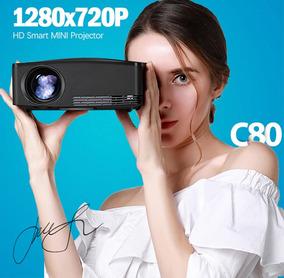 Projetor C80 Resolução Hd Nativa 2200 Lumens