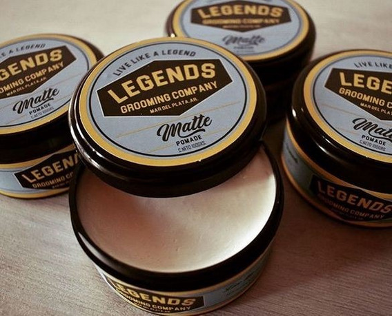 Pomada Matte Soluble Efecto Opaco - Mate X 100 Grs Legends