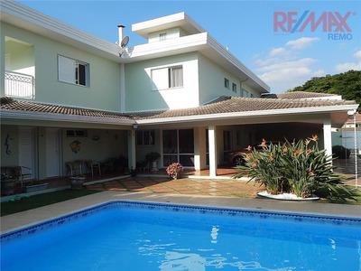 Casa Residencial À Venda, Condomínio Vale Do Itamaracá, Valinhos - Ca3033. - Ca3033