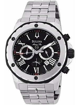 Relógio Luxo Bulova Marine Star 98b106 Importado Ac Trocas
