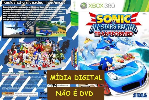Sonic All Stars Racing Transformed Xbox 360 - Midia Digital