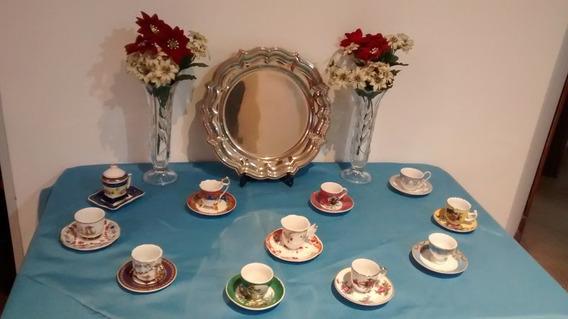 Set 11 Tacitas De Porcelana Ideal Coleccionista