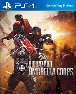 Umbrella Corps Ps4 Sec Digital Deluxe Español Lgames