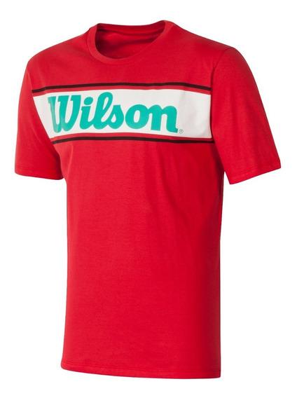 Remera Wilson Algodon Entrenamiento Tenis Padel