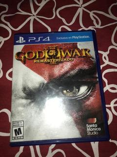 Juego Ps4 Good Of War 3 - Remasterizado - Usado - Fisico